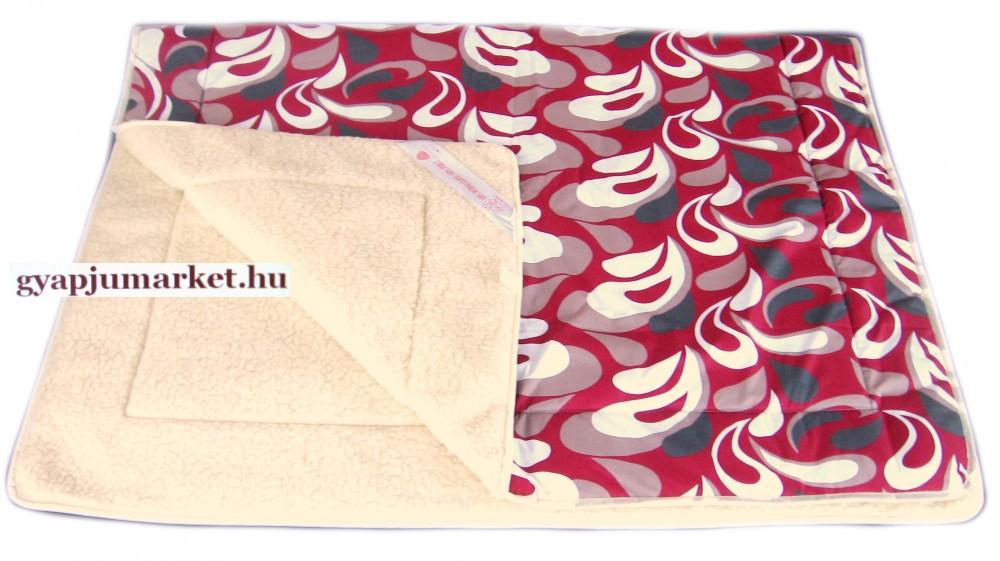 Merino gyapjú-pamut takaró (pléd)