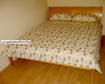 Két személyes gyapjú-pamut takaró francia ágytakaró 200x220 cm