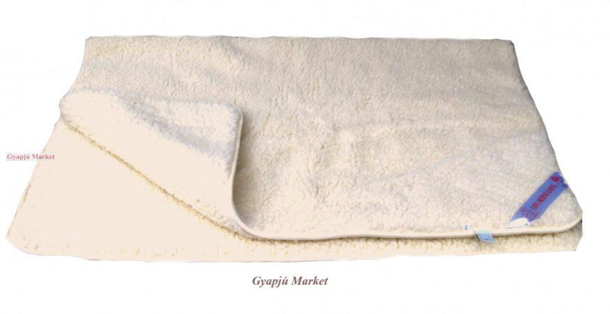 Bárány merino gyapjú takaró natúr 850g/m2