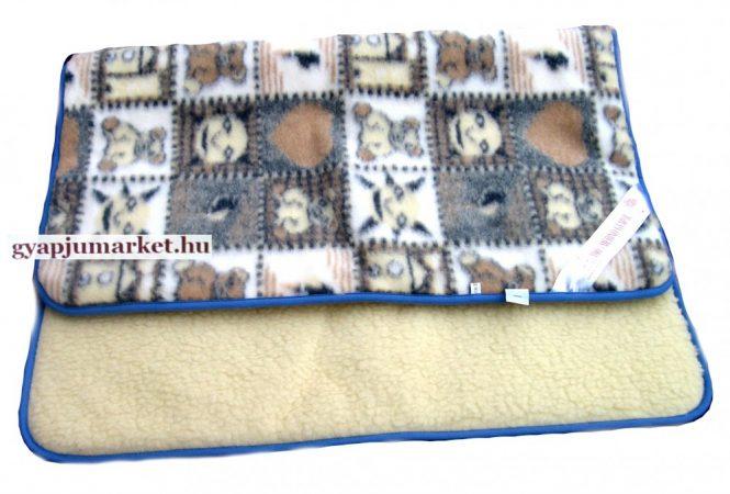 Gyermek bárány merinó gyapjú takaró