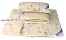 Bárány merino gyapjú garnitúra JÁZMIN MINTÁS (derékalj, takaró, párna) 520g/m2