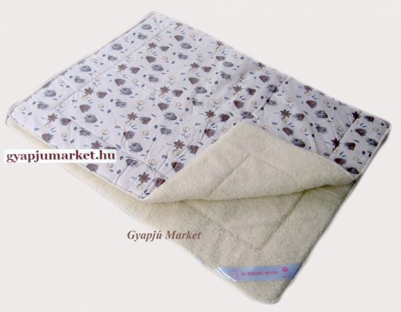Bárány merinó gyapjú-pamut takaró