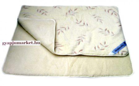 Bárány merino gyapjú takaró leveles - Gyapjú Market 388bc5de0d