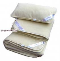KASHMÍR gyapjú garnitúra LUXUS minőség (derékalj, takaró, párna) 650g/m2