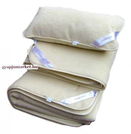 KASHMÍR gyapjú garnitúra  (derékalj, takaró, párna) 650g/m2