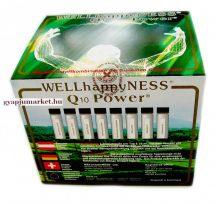 Q10 POWER WELLhappyNESS étrend-kiegészítő 1 doboz  (30 db flakon) Flakononként  30mg Q10 koenzim!