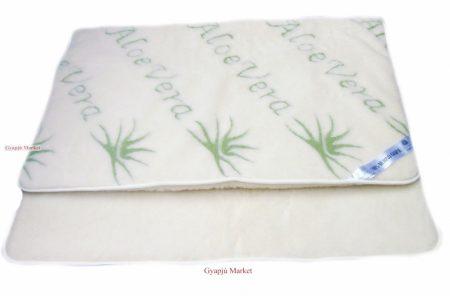Bárány merino gyapjú takaró Aloe-Vera