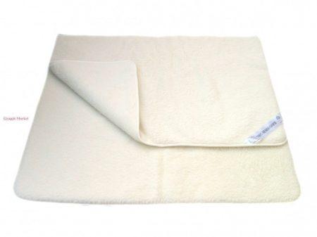 Bárány merino gyapjú takaró natúr 450gr/m2