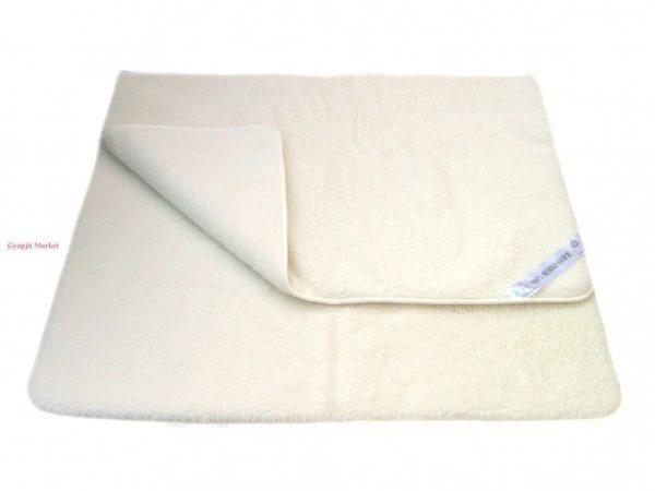 Bárány merino gyapjú takaró natúr 450g/m2