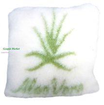 Merino gyapjú díszpárna Aloe Verával