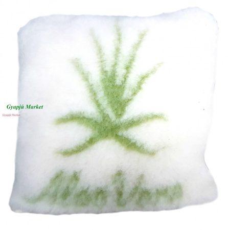 Merino gyapjú díszpárna Aloe Verával 40*40 cm (450gr/m2)