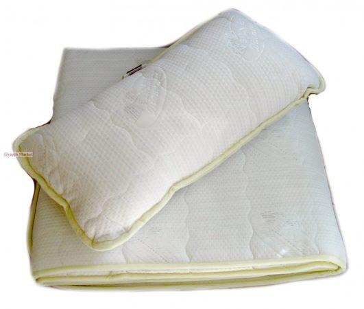 Ezüstszálas garnitúra (derékalj, takaró, párna)