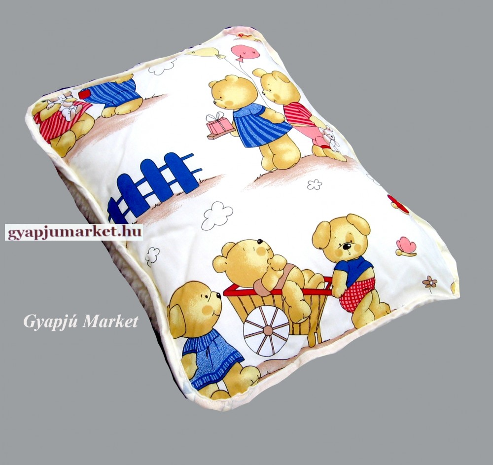 Gyapjú - pamutkrepp kispárna bagoly mintával - Gyapjú Market 38261f4e58